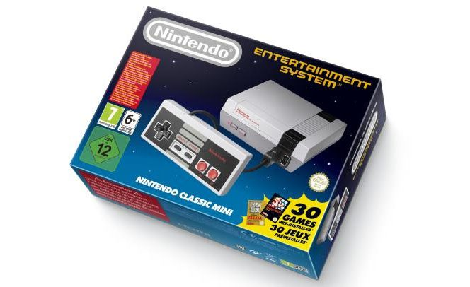 Production Nintendo Classic Mini