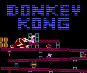 Mario doit sauver la princesse des mains de Donkey
