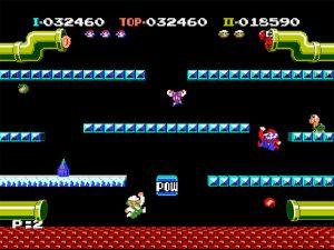 Le tout premier Mario