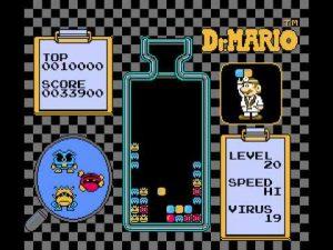 un Tetris-like sur NES