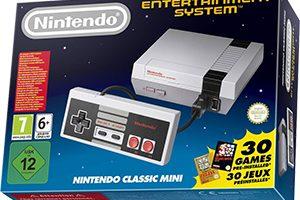 Nintendo Classic Mini Noël