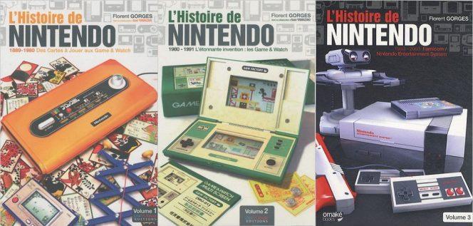 Livre collector l'Histoire de Nintendo