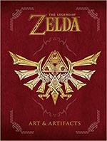 Livre d'illustrations sur Zelda