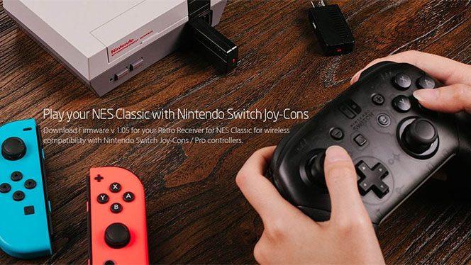 Vos Joy-Con Switch sur Nes Classic Mini