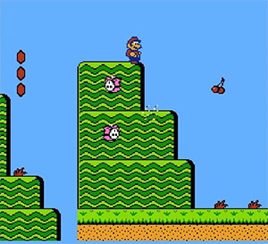 Capture d'écran du jeu NES